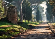 A day on the ancient highway: Catacombs, Ancient ruins and the Appia way.